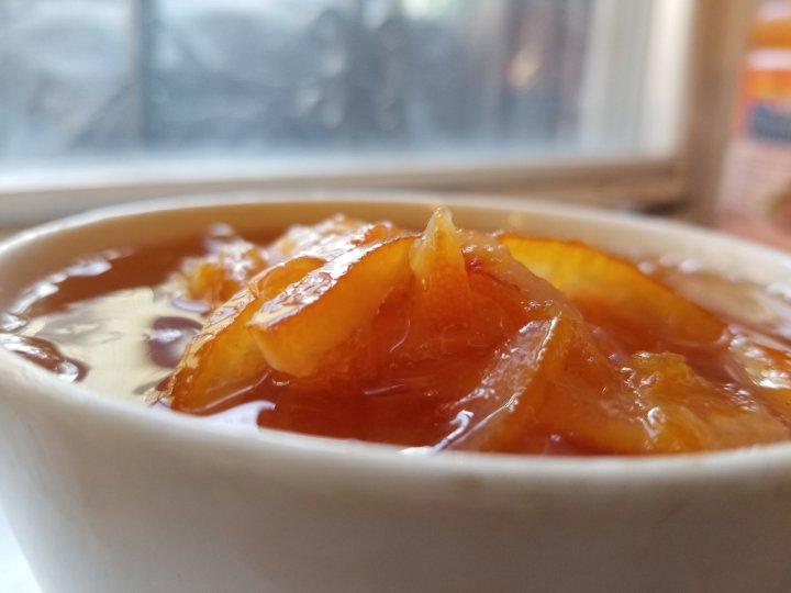 Blood Orange & Meyer Lemon Marmalade forBBQ