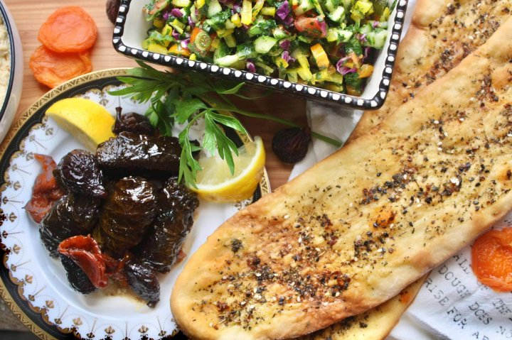 A Syrian Menu for Two (with leftovers)