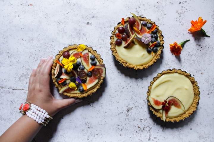Thousand Flowers Tart
