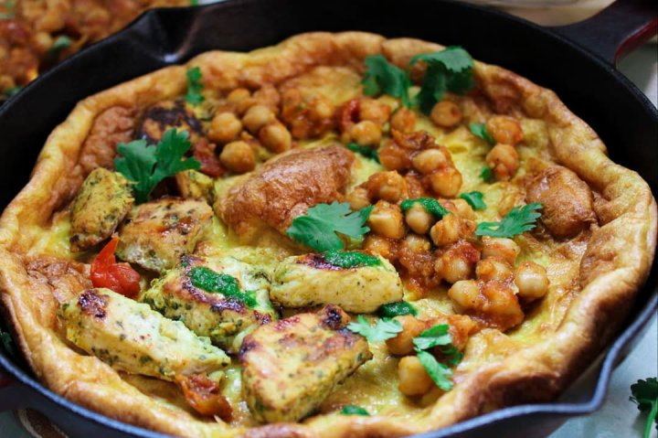 Savoury Indian Dutch Baby